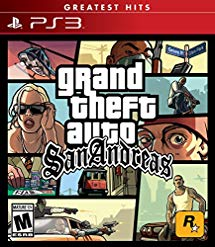 GTA Grand Theft Auto: San Andreas for PS3 US