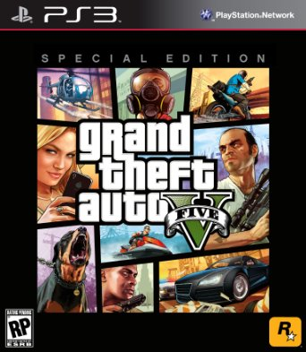 GTA 5 Grand Theft Auto V Special Edition em Português PS3 US