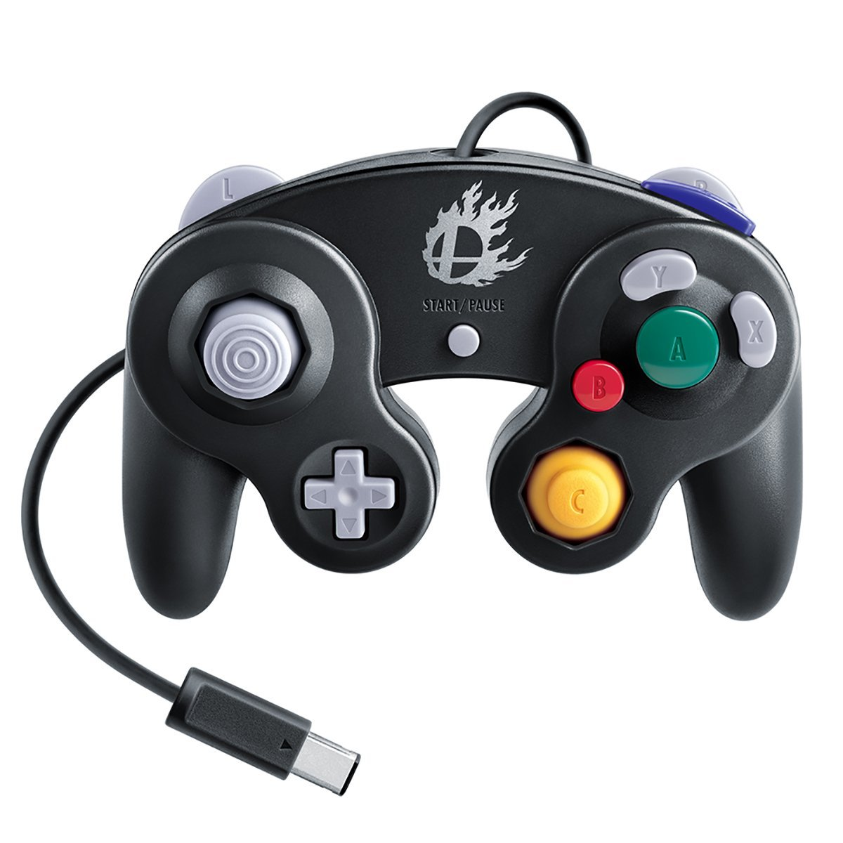 GameCube Controller (Super Smash Bros. Black)