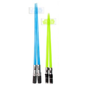 Hashi Star Wars: Lightsaber Chopsticks Set: Yoda and Luke