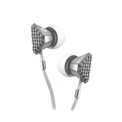 Heartbeats by LADY GAGA - In-Ear Headphones (Bright Chrome)