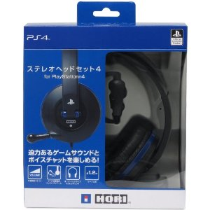 HORI Stereo Headset 4 for PlayStation 4