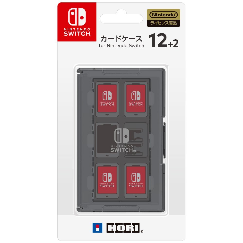 HORI Game Card Case 12 for Nintendo Switch