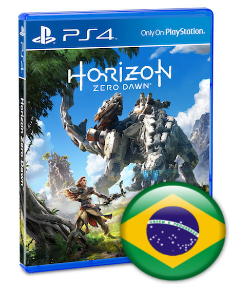 PS4 Horizon: Zero Dawn em Portugues (PlayStation 4)