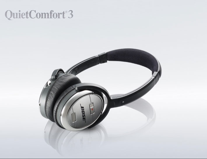 Bose� QuietComfort� 3 Acoustic Noise Cancelling� headphones