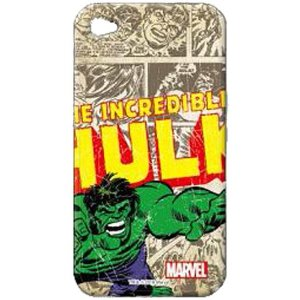 Marvel Character Jacket iPhone 4 - Hulk