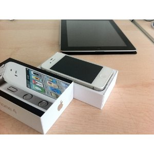 Apple iPhone 4 Black Smartphone 16GB - WHITE