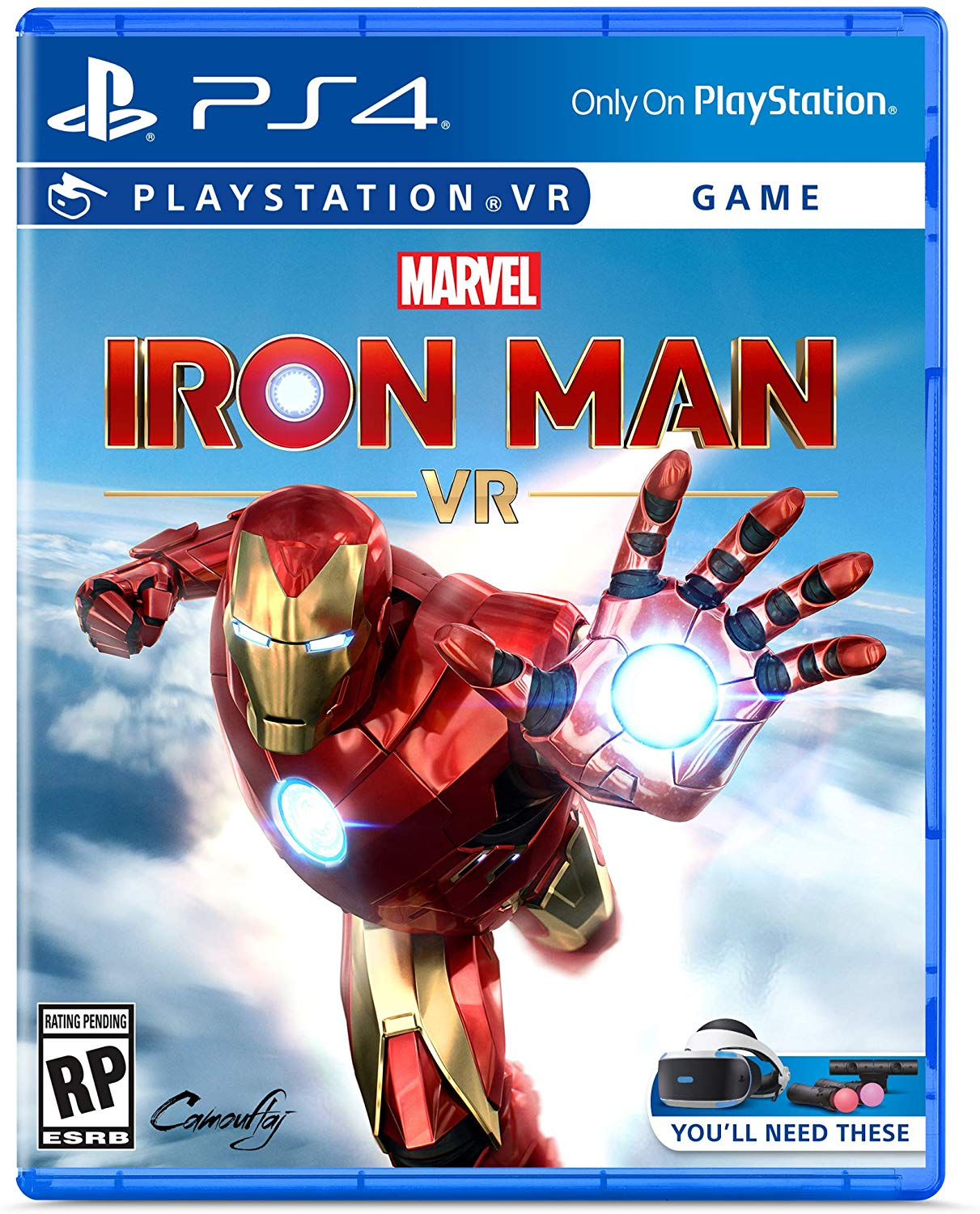 PS4 PSVR Marvel's Iron Man VR