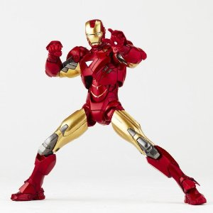 SCI-FI Revoltech Series No.024 Iron Man Mark VI