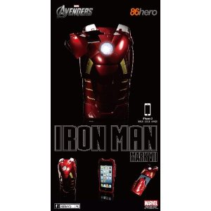 Case Ironman especial com LED para iPhone 5
