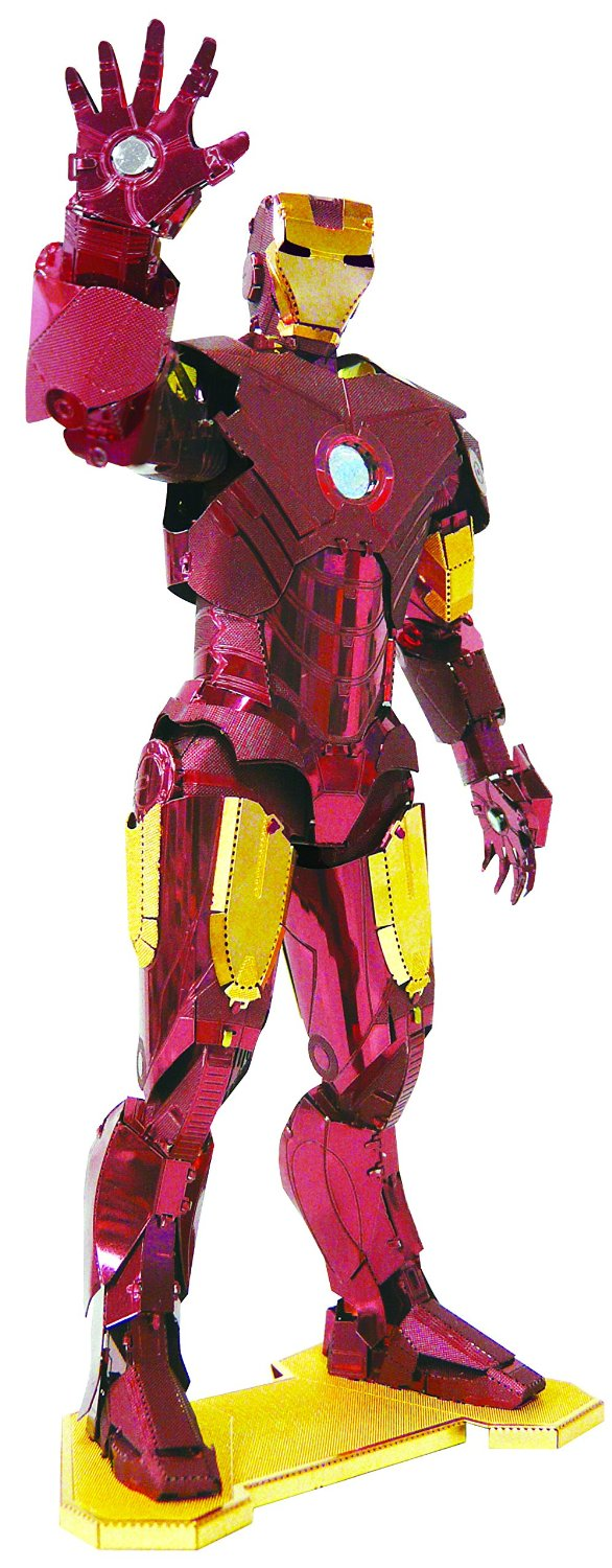 Metallic nano puzzle Premium Series Iron Man mark IV