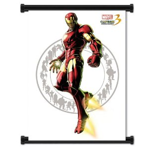 Poster Marvel vs Capcom 3 Fate of 2 Worlds Iron Man (80x105)