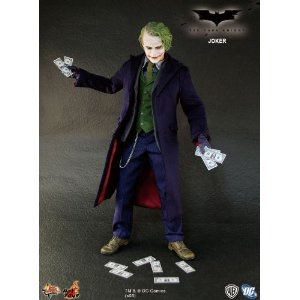 Batman The Dark Knight 1/6 Movie Masterpiece Joker SEMINOVO