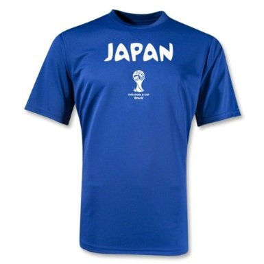 Camiseta Japan Official FIFA Copa do Mundo Brasil 2014
