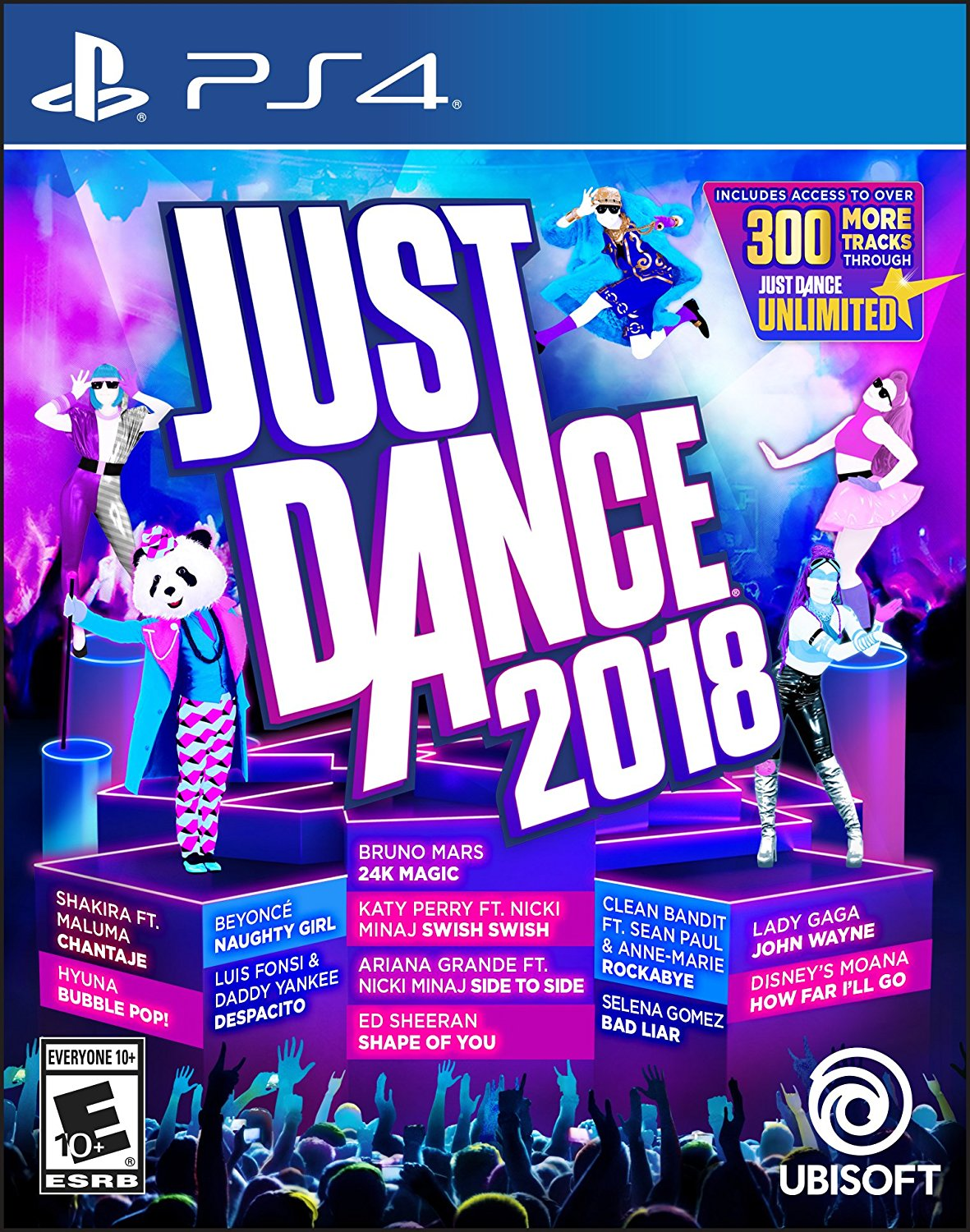 PS4 Just Dance 2018 em Português e Espanol (PlayStation 4)
