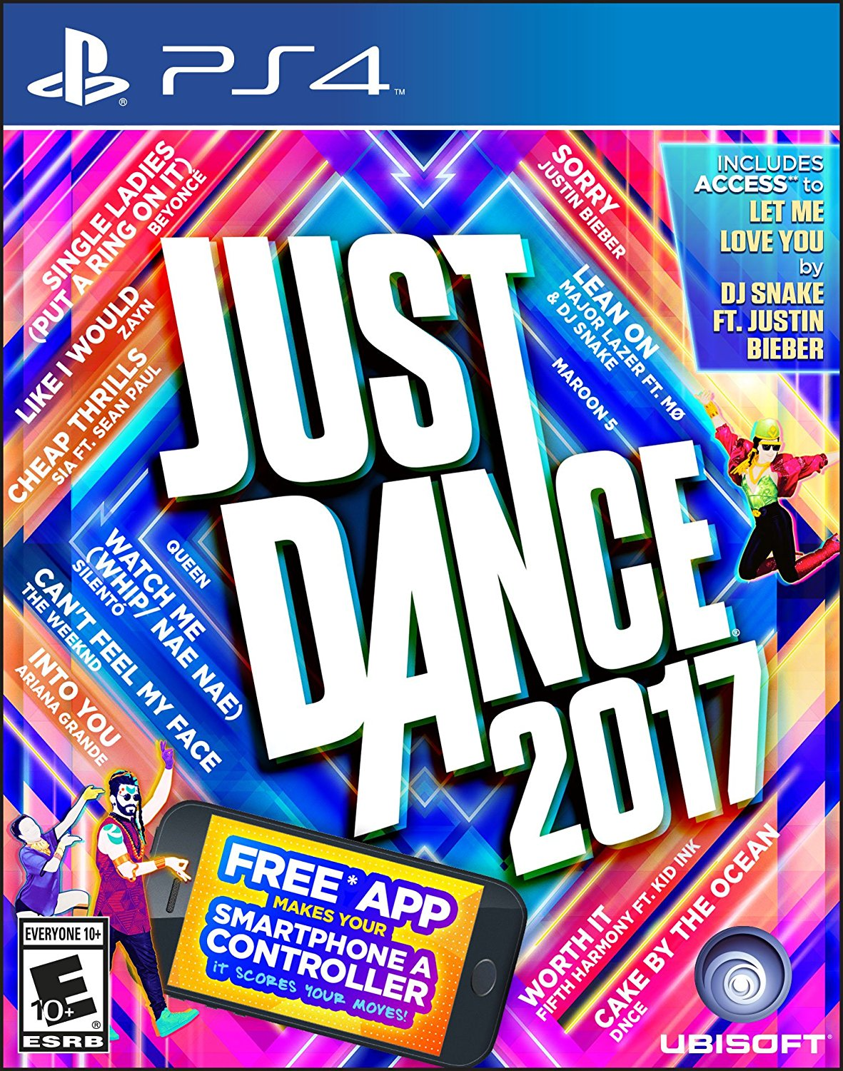 PS4 Just Dance 2017 em Português e Espanol (PlayStation 4)