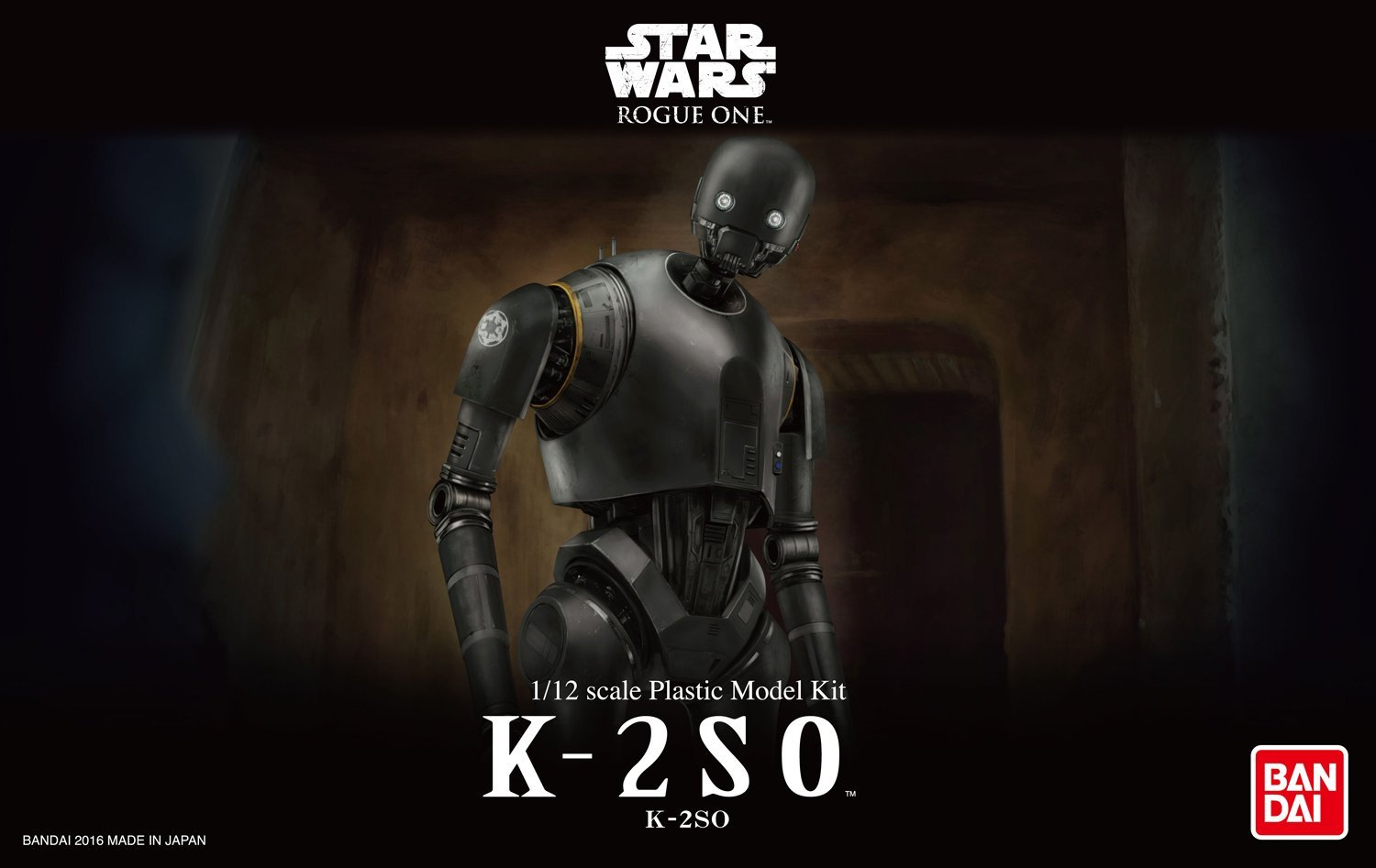 Bandai Star Wars K-2SO 1/12 scale Plastic Model rogue one