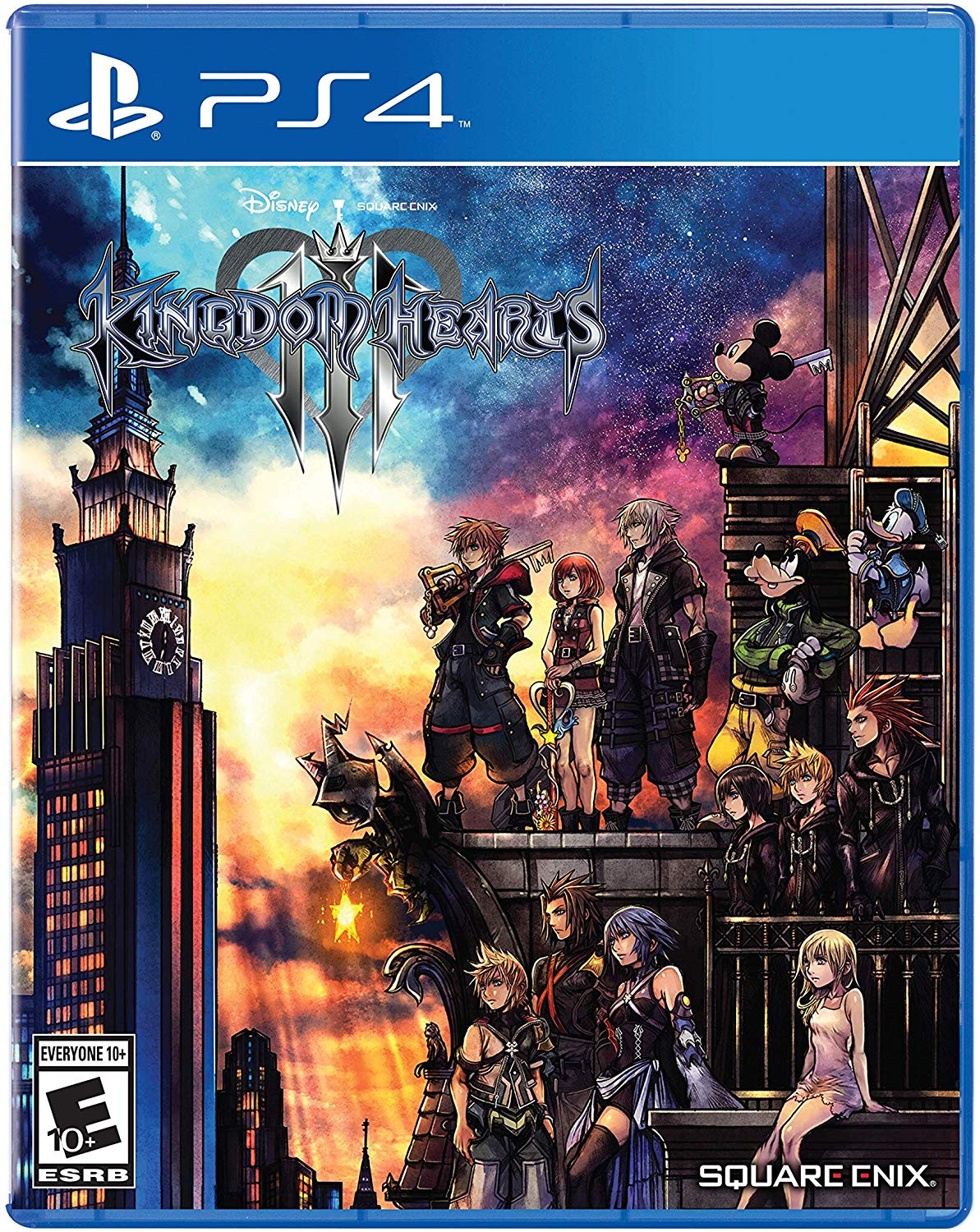 PS4 Kingdom Hearts 3 em Espanol e Ingles
