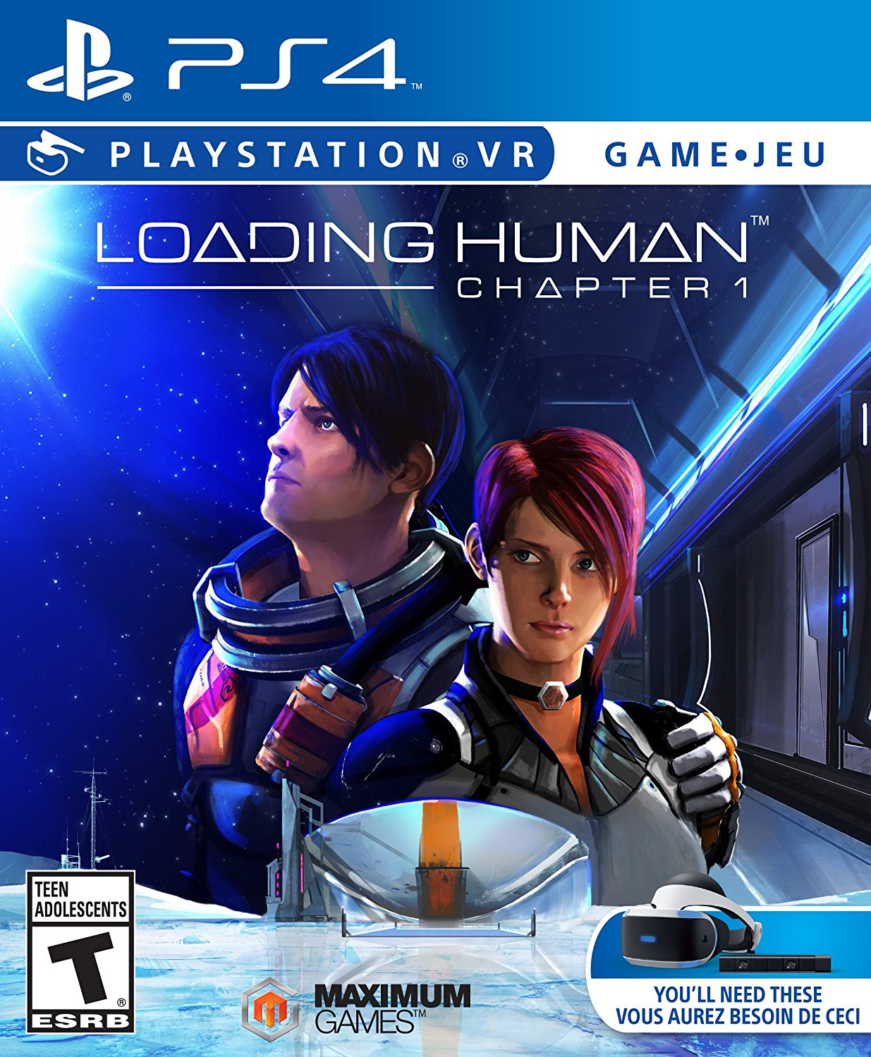 PS4 PSVR Loading Human