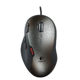 Logitech Gaming Mouse G500 (Black/Silver)
