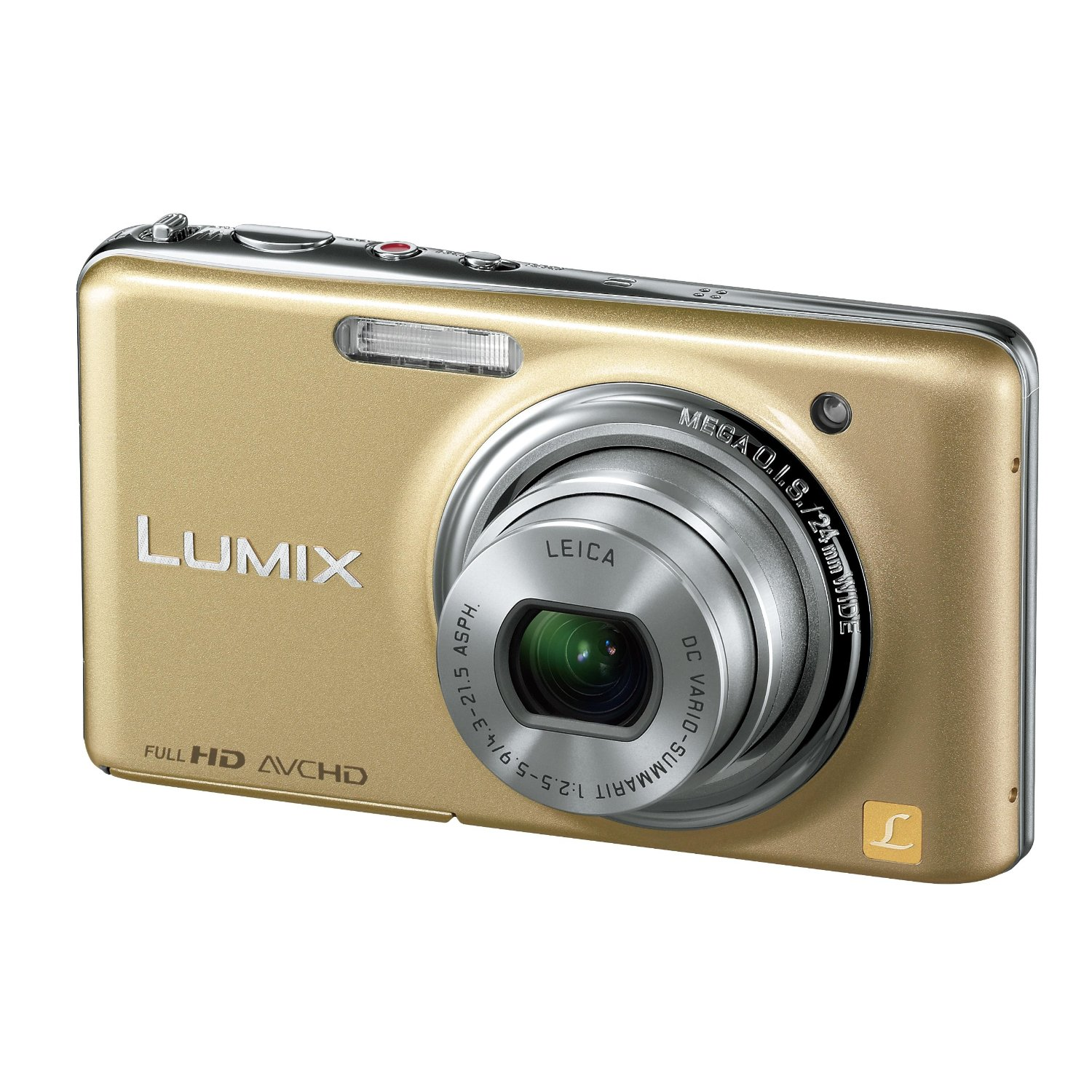 Panasonic LUMIX DMC-FX77 - Gold