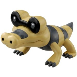 Pokemon Black and White Figure - M-007 - Meguroko/Sandile