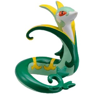 Pokemon Black and White Figure - M-018 - Jalorda/Serperior