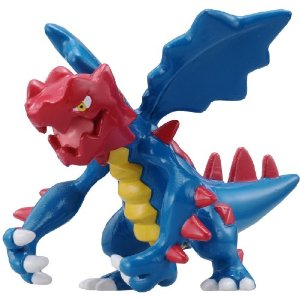 Pokemon Black and White Figure - M-029 - Crimgan/Druddigon