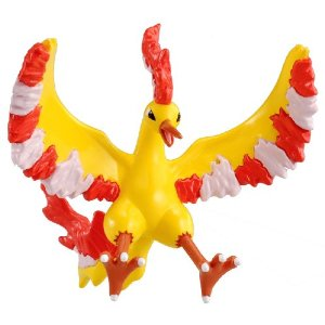 Pokemon Monster Collection M Figure - M-065 - Moltres/Fire