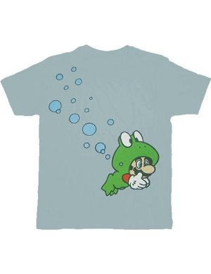 Nintendo Camiseta Mario - Frog Light Blue