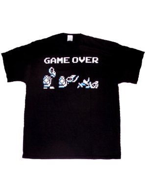 Nintendo Camiseta Mario - Dry Bones Game Over