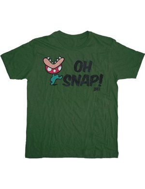 Nintendo Camiseta Mario - Oh Snap Military Green