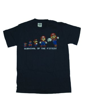 Nintendo Camiseta Mario - Survival of the Fittest Youth