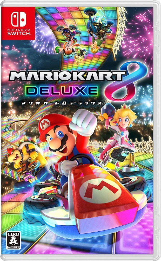 Mario Kart 8 Switch JP