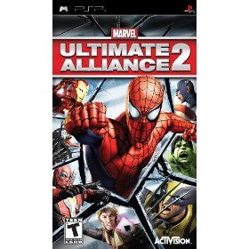 PSP Marvel Ultimate Alliance 2 US