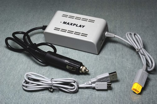 Carregador para Carro Maxplay Adapter Wii U on board