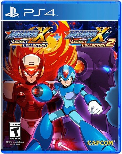 PS4 Mega Man X Legacy Collection 1+2 (PlayStation 4)