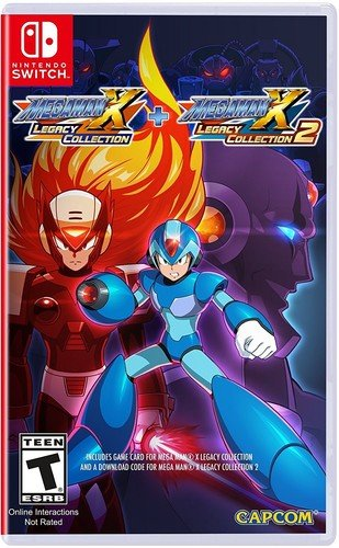 Megaman X Legacy Collection 1+2 Nintendo Switch USA