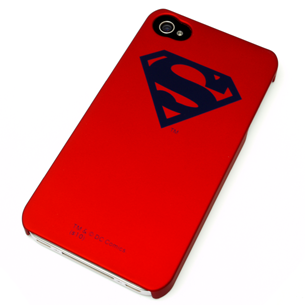 Case for iPhone 4 Special Edition Metalizada Superman