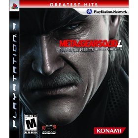 Metal Gear Solid 4: Guns of the Patriots (Greatest Hits) for PS3