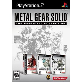 Metal Gear Solid: The Essential Collection - PS2 USA