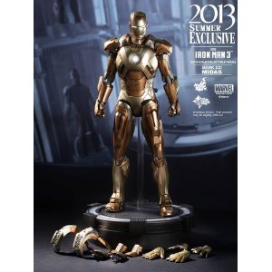 Hot Toys Iron Man Mark21 Midas Movie Masters Peace Figure