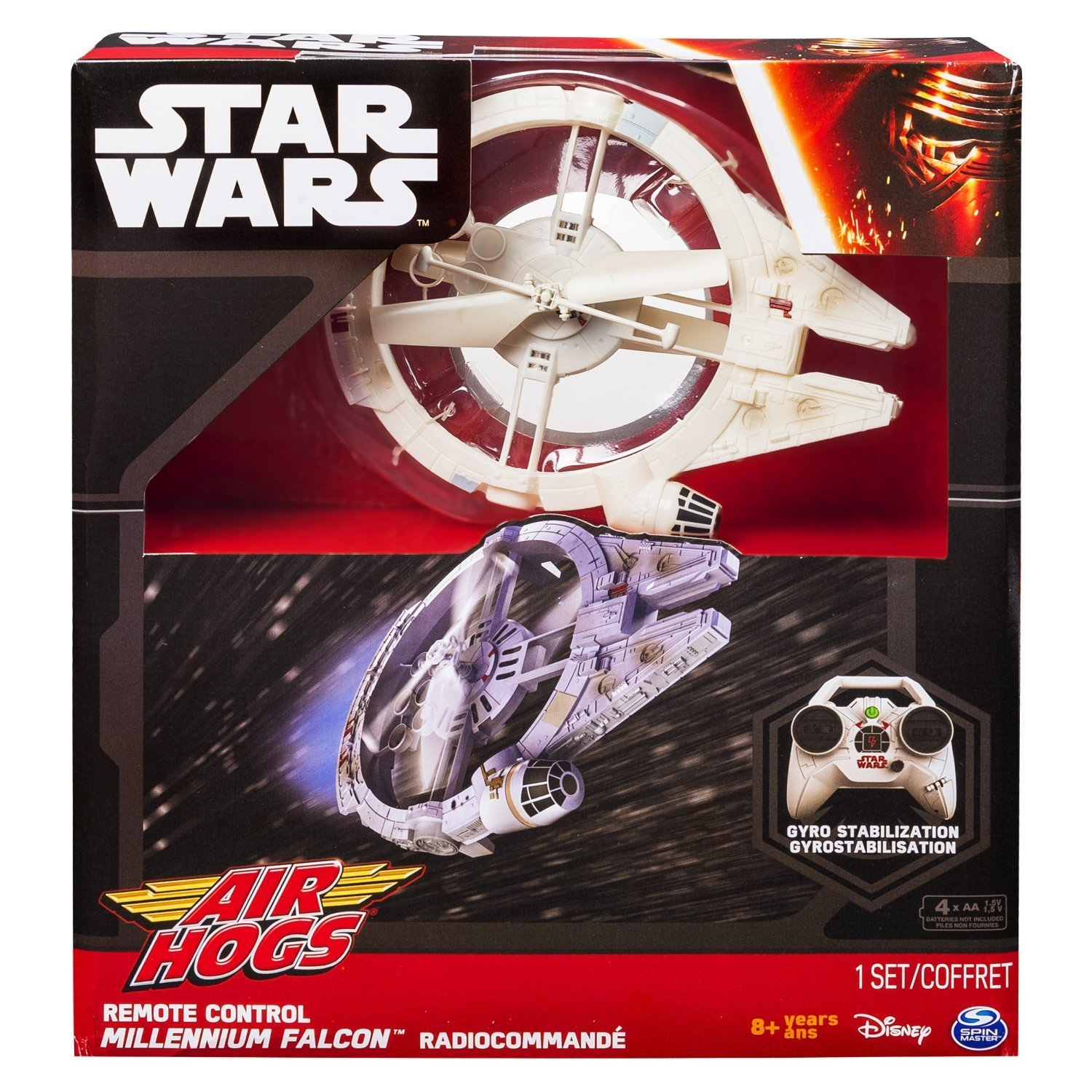 Air Hogs Star Wars The Force Awakens Millennium Falcon Drone