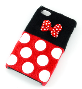 Case Minnie FuwaFuwa Red para iPhone 4G