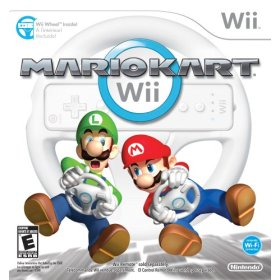 Mario Kart Wii with Wii Wheel US