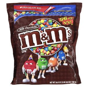 M&M's XXLARGE BAG - Milk Chocolate 1.588G