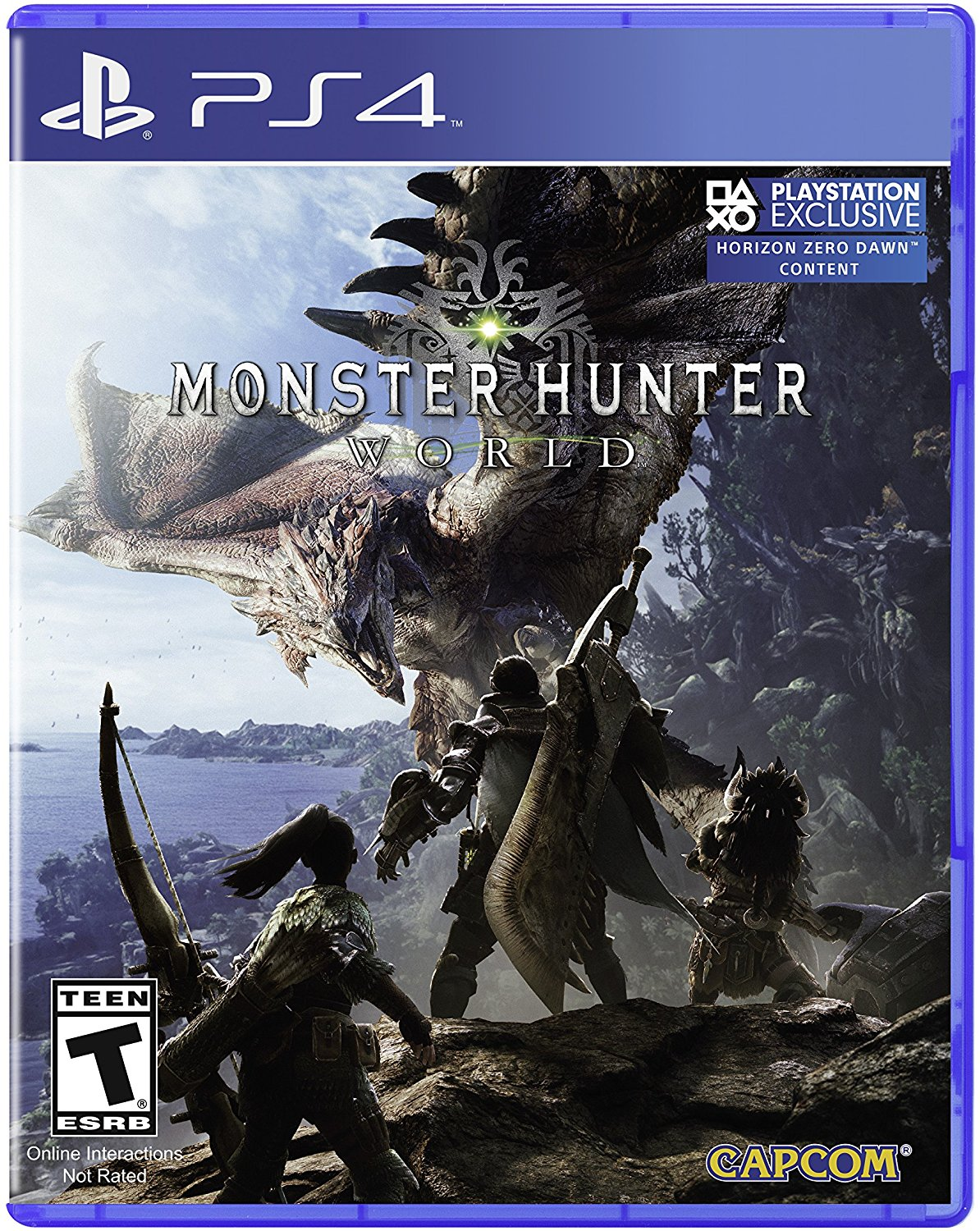 PS4 Monster Hunter: World (PlayStation 4)