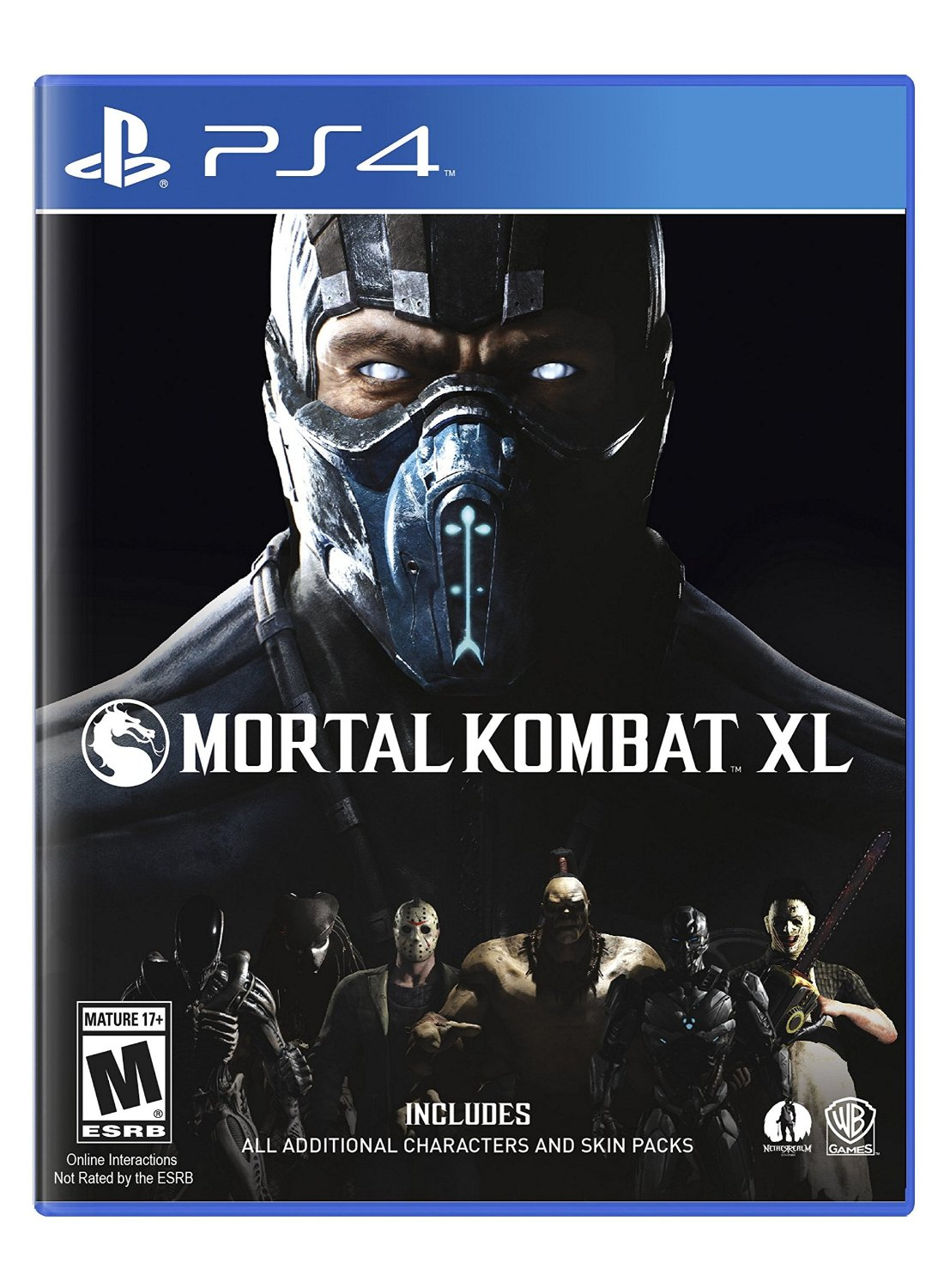 PS4 Mortal Kombat XL Edition em Portugues (PlayStation 4)