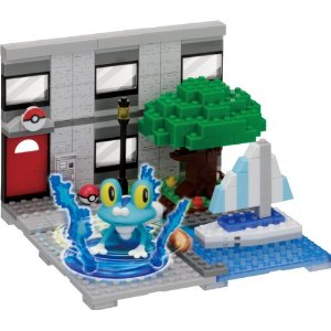 Nanoblock Pokemon PP-004 Pokemon Froakie Yacht Harbor