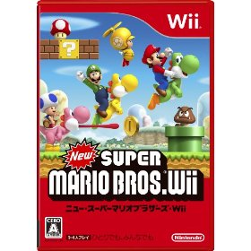 Wii New Super Mario Bros. US